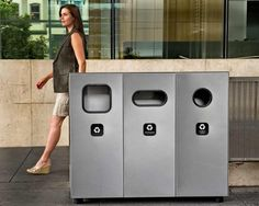 Landscape Forms Select Recycling System