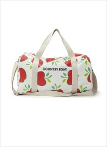 Country Road Apple Overnight Bag, too cute! Country Road Kids, 3 Kids, Children, Cute Bags, To My Daughter, Little Boys, Gym Bag, Kids Fashion, Apple