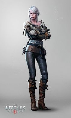 The Witcher 3: Wild Hunt - Ciri by Marmad armor clothes clothing fashion player character npc | Create your own roleplaying game material w/ RPG Bard: www.rpgbard.com | Writing inspiration for Dungeons and Dragons DND D&D Pathfinder PFRPG Warhammer 40k Star Wars Shadowrun Call of Cthulhu Lord of the Rings LoTR + d20 fantasy science fiction scifi horror design | Not Trusty Sword art: click artwork for source