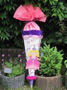 Schultüten - Schultüte Zuckertüte Prinzessin des Lichts + Name - ein Designerstück von Wonderful-Paper-Art bei DaWanda