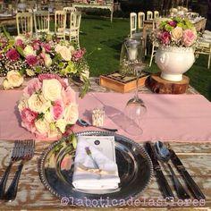 Diseño floral para boda en San Miguel Allende de la botica de las flores