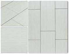 BuildDirect®: Salerno Porcelain Tile - Moderna Collection - use white grout