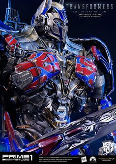 Prime 1 Studio Age of Extinction Optimus Prime Ultimate Edition Statue - Transformers News - Transformers Optimus Prime, Transformers Bumblebee, Hot Toys Hulkbuster, Starwars, V Force, Cloverfield 2, Transformers Collection, Marvel, Statue