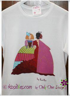 Camiseta flamenca colección Monina´s by kosittas.com