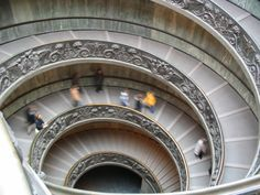 Vatican stairwell, Italy 2007