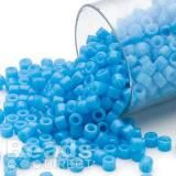 Uniform size, shape and large hole make Delica® beads perfect for precision work. There is absolutely no better bead for brick and peyote stitch projects. All Delica® seed beads are a uniform size package can contain approximately beads. Bugle Beads, Seed Beads, Jewelry Making Classes, Capri Blue, Fall Jewelry, Peyote Stitch, Clay Charms, Glass Beads, Craft Supplies