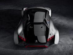 Peugeot reveals the Vision Gran Turismo Concept