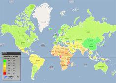 world IQ Map