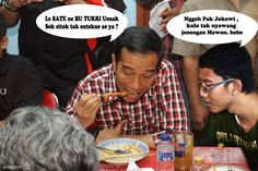 Have Lunch With Mr. Joko Widodo RI 1