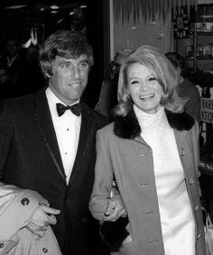 Burt Bacharach et Angie Dickinson au 27e Golden Globe