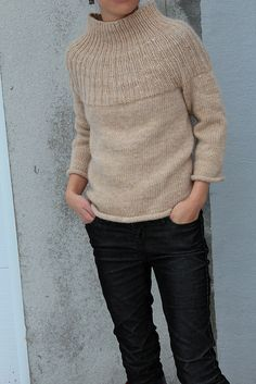 Ravelry: Project Gallery for Top Down Pullover pattern by Lion Brand Yarn