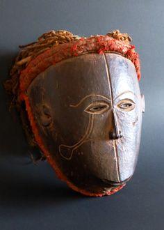 Monkey mask, Chokwe, Zambia