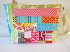 Scrappy Collage Tote