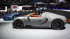 Bugatti Veyron GS Vitesse.  At the Geneva 2012 Auto Show.  Omygod.  I die.