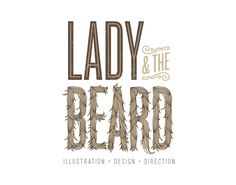Lady and the beard