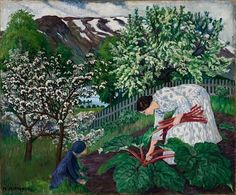 Nikolai Astrup: the lost artist of Norway
