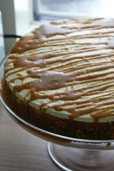 Monalisa´s cakes: Kinuskinen uunijuustokakku