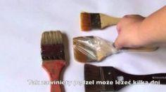 Decoupage krok po kroku- materiały - pędzle