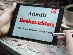 "Cómo instalar ""bookmarklets"" en el navegador web del iPad, iPhone y iPod Touch Web 2, Ipod Touch, Blog, Web Browser, Future Gadgets, Teachers, Extensions, Blogging"