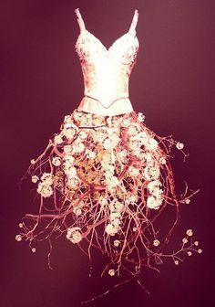 Todd Murphy's 'Dress Form' series - Flower Dress