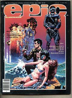 epic illustrated #24-1984 vg/fn #Marvel magazine pepe moreno / mike kaluta from $0.99
