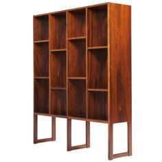 Rosewood bookshelf for Illums Boligus department store, ca.1960's, Denmark.