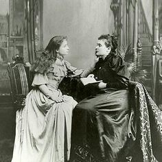 Helen Keller & Anne Sullivan...Anne Sullivan was a remarkably patient women. Without her dedication to Helen Keller, it hard to say what kind of life she would have lived.