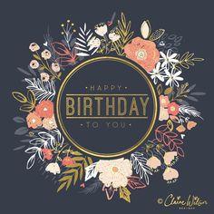 Happy Birthday Wishes Cards, Best Birthday Wishes, Happy Birthday Pictures, Birthday Wishes Quotes, Birthday Msgs, Birthday Messages, African American Birthday Cards, Happy Birthday Illustration, Happy Birthday Beautiful
