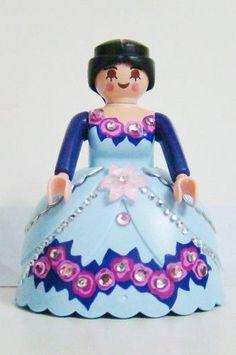 Playmobil Mulher Medieval Vintage Para Cenários Antigos 1348 - R$ 5,00