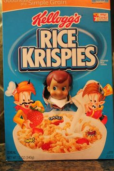 Elf On The Shelf Cereal Box