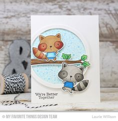 Harvest Buddies Stamp Set and Die-namics, Single Stitch Line Circle Frames Die-namics - Laurie Willison  #mftstamps