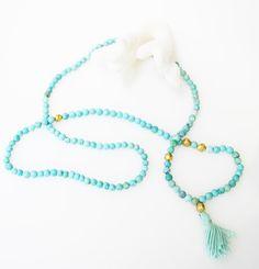 Mykonos Prayer Necklace
