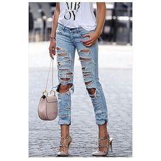 Qual o Melhor Tutorial de #Jeans Rasgado? http://votew.in/26Q9K26 #DIY