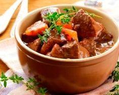 Boeuf aux carottes (à la cocotte minute) (facile, rapide) - Une recette CuisineAZ