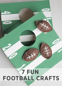 This Mini Football Cornhole game is really fun and your whole family will enjoy this. Here is a tutorial on how to make mini football cornhole game.