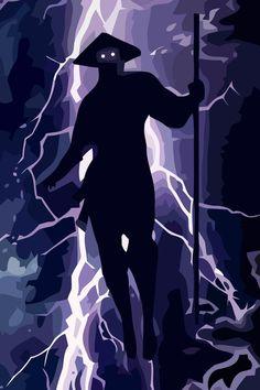 Elder God Canvas Print by VGPrints from Raiden Mortal Kombat, Mortal Kombat Art, Mortal Kombat X Wallpapers, Claude Van Damme, Canvas Prints, Art Prints, Street Fighter, Character Design, Geek Stuff