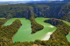 Amazing nature! Lepote prirodnog dobra Uvac, Srbija :)) Uvac Lake, Serbia - Jezero Uvac, Srbija - Озеро Увац, Сербия