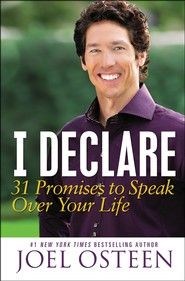 """Are you speaking defeat into your future by talking negatively? Before you utter another word, reach for this book! Assuring you that positive verbalization can foster a victorious attitude, Joel Osteen offers 31 daily """"declarations"""" affirming God's providence in family matters, health, decision making, and more. Transform your future by blessing it - one day at a time!"""