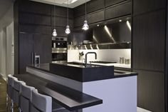 European kitchen company Aster Cucine has collaborated with American design firm workshop/apd on a new kitchen line, Timeline.