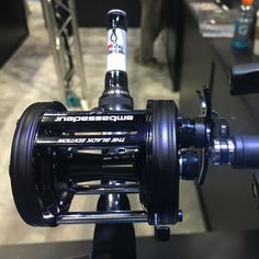 New Abu Garcia 6500 Pro Rocket reel I got to check out at iCast. Looking forward to getting my hands on one of these and testing it out! #AbuGarcia #Catfish #Catfishing #iCast #iCast2016 #CatfishEdge #Reel #FishingReel