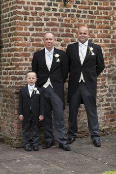 Groomsmen at Howfield Manor