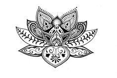 lotus desenho maori - Pesquisa Google