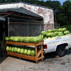 Watermelons by jekemp, via Flickr