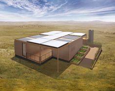 Texas Modular Home Will Run on Rainwater and Sunshine Alone   Builder Magazine   Water, Water Supply, Water Conservation, Austin-Round Rock, TX, Solar Decathlon, Texas