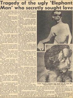 Early news clipping. Much like today, headlines judge and shape public opinion unjustly. Newspaper Headlines, Public Opinion, Weird And Wonderful, Sideshow, First They Came, Macabre, Being Ugly, Contents, American History
