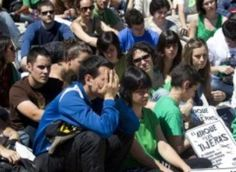 Spain Teachers, Students Strike Over Spending Cuts