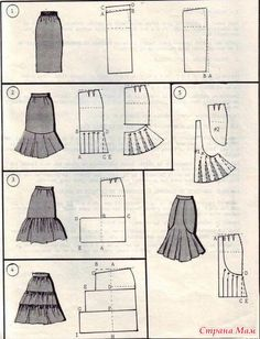 Amazing Sewing Patterns Clone Your Clothes Ideas. Enchanting Sewing Patterns Clone Your Clothes Ideas. Techniques Couture, Sewing Techniques, Skirt Patterns Sewing, Clothing Patterns, Skirt Sewing, Diy Clothing, Sewing Clothes, Fashion Sewing, Diy Fashion