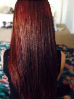 31.Dark Auburn Hair