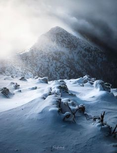 Western Tatras (Baranec peak), Slovakia, winter Winter Wonderland, Westerns, Mountains, Nature, Travel, Photos, Cute Backgrounds, Pictures, Naturaleza