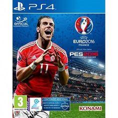 Queda muy poco para que la UEFA EURO 2016 comience en Francia. Pero tu puedes empezar ya mismo en tu PS3 o PS4 a disfrutar del mejor futbol con tus amigos gracias al videojuego de Konami. Y a un precio irresistible en TheShopGamer.com tu tienda online de consolas, videojuegos y mucho más!